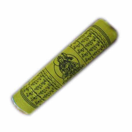 Drapeaux de prières bouddhistes tibétains - (B) Coton - Noir - 4066 Plier