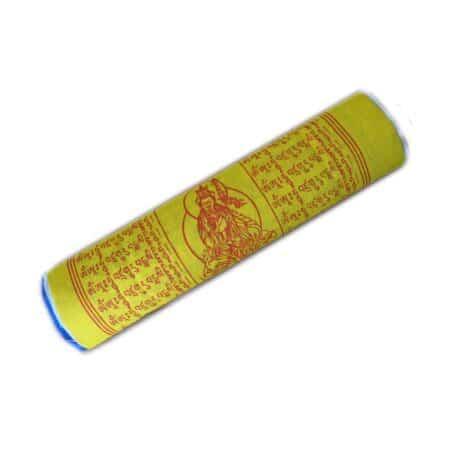 Drapeaux de prières bouddhistes tibétains - (C) Coton - Couleur - 4075 Plier