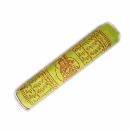 Drapeaux de prières bouddhistes tibétains - (D) Coton - Couleur - 4076 Plier