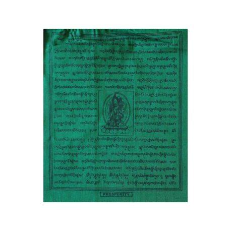 (B)-4077-2-Vert-Drapeaux-de-prières-bouddhistes-tibétains