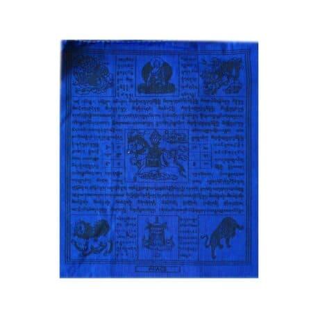 (B)-4077-5-Bleu-Drapeaux-de-prières-bouddhistes-tibétains