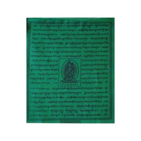 (C)-4078-2-Vert-Drapeaux-de-prières-bouddhistes-tibétains