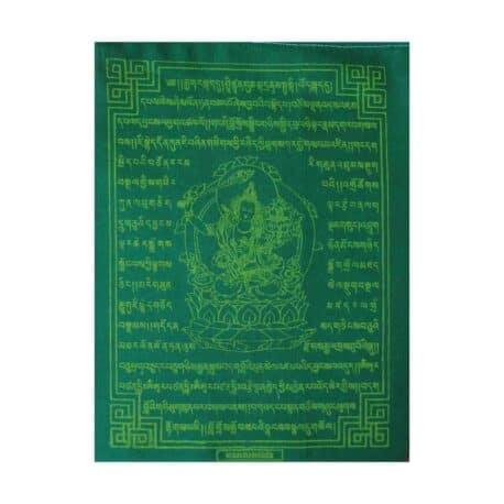 (C)-Manjushree-4083-2-Vert-Drapeaux-de-prières-bouddhistes-tibétains