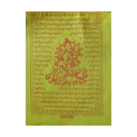 (C)-Tara-Verte-4080-1-Jaune-Drapeaux-de-prières-bouddhistes-tibétains