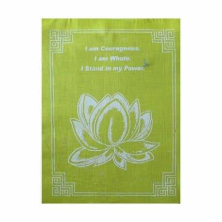 Lotus-4085-3-Jaune-Drapeaux-de-prières