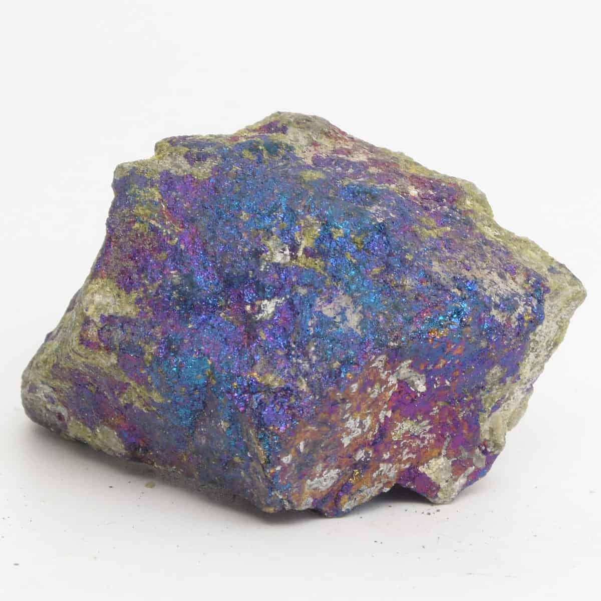 Chalcopyrite bleu violet