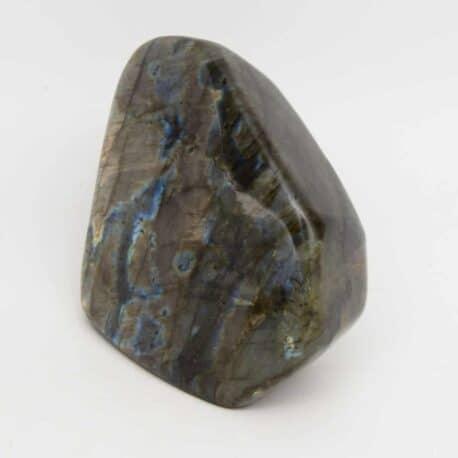 Labradorite-Menhir-N°7811..5-605gr-9×9,5×4,5cm-2
