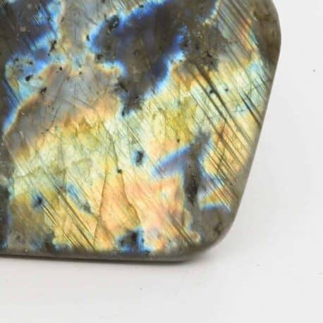 Labradorite-Menhir-N°7811..6-496gr-7,3×9,5×4,8cm-2