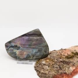 Labradorite Menhir – 599gr – 10,5x8x4cm – N°7811.4