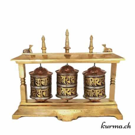 Moulin à prière tibétain – table – 4373 (4)