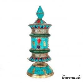 moulin a prière tibetain