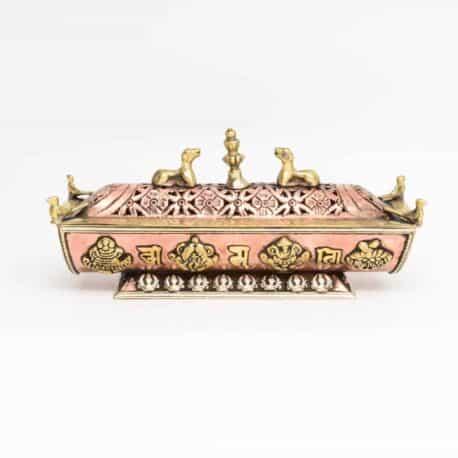 Porte-encens-boite-en-métal-N°4757.1-290gr-20x6x9cm-3
