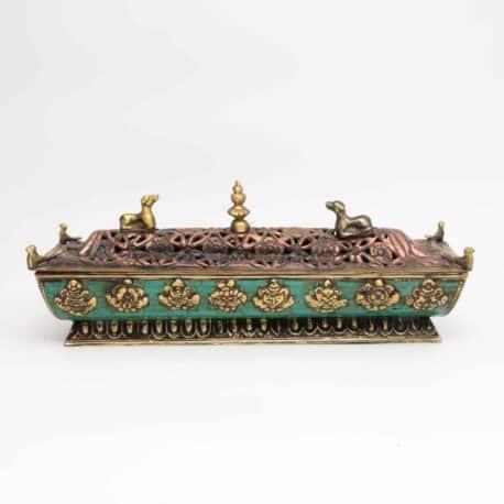 Porte-encens-boite-en-métal-N°6331.1-440gr-26x8x10cm-4