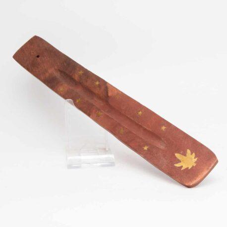 porte encens avec une tige en bambou