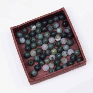 Agate perles