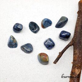 Dumortiérite – Pierre roulée 3cm à 4cm – N°8675.1