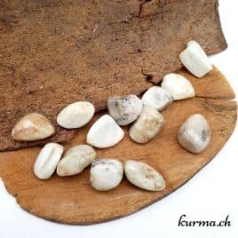 Hiddénite ou Kunzite verte – Pierre roulée 3cm à 3.5cm – N°7877.1