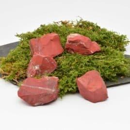 Jaspe rouge – Brute arrondis – 2 à 2.5cm – N°7779.4