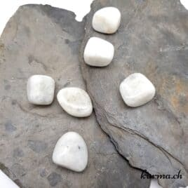 Labradorite Blanche – Pierre roulée 2cm à 3.5cm – N°7519.1