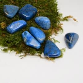 Lapis-Lazuli – Pierre roulée 3cm à 3.5cm – N°5810.1