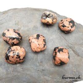 Luxullianite (Granite) – Pierre roulée 2.5cm à 3cm – N°8708.1
