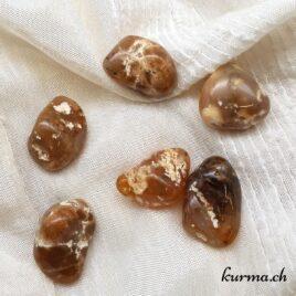 Opale Cappuccino – Pierre roulée 2.5cm à 3.5cm – N°8680.1