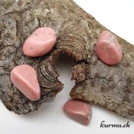 Thulite (Quartz Piémontite) – Pierre roulée 3cm à 3.5cm – N°8440.1