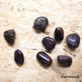 Tourmaline Violette – Pierre roulée 2cm à 2.5cm – N°8446.2