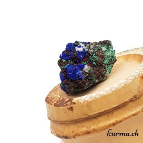 Malachite-Azurite naturelle