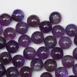 Améthyste – Perles 8-8.5m – N°5761