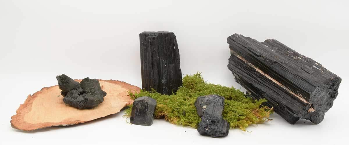 Tourmaline noire cristallisé du brésil