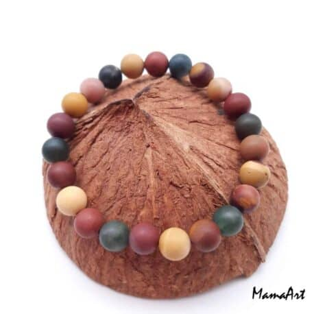 Bracelet en mookaïte