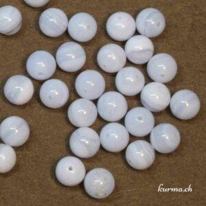 Calcédoine perles