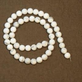 Vente de perles howlite