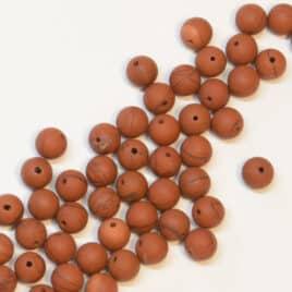 Jaspe Rouge Mat – Perles 8mm – N°5698