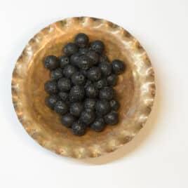 Lave cirée – Perles 8.5mm – N°5656