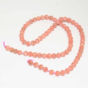 Rhodochrosite perles