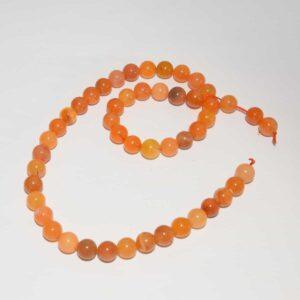 Cornaline perles