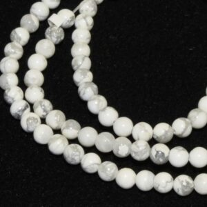 Howlite perles