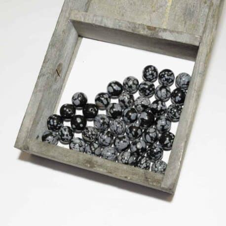 achat obsidienne en perles
