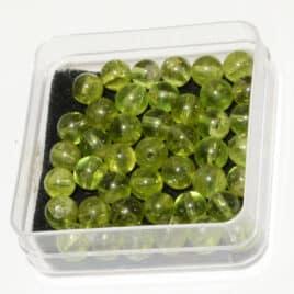 Perles en Péridot