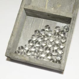 Cristal de roche – Perles 10-10.5mm – N°9234