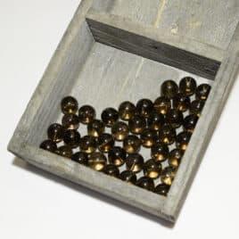 Quartz fumé – Perles 10mm – N°7619