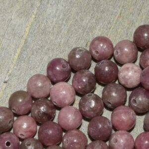 Lépidolite perles