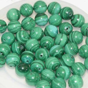 Malachite perles