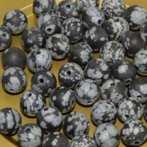 Obsidienne perles