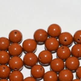 Jaspe Rouge – Perles 8-8.5mm – N°5594