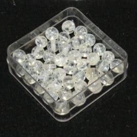 Cristal de roche Iris – Perles 5-5,5mm – N°8814