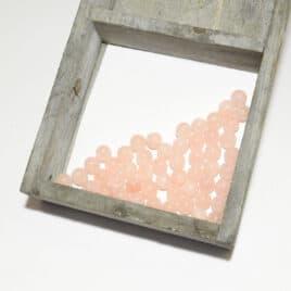 Morganite – Perles 7.5mm – 50 pcs – N°7687