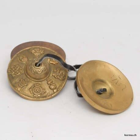Tingsha signe de protection en bronze